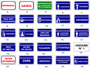 Placas Indicativas